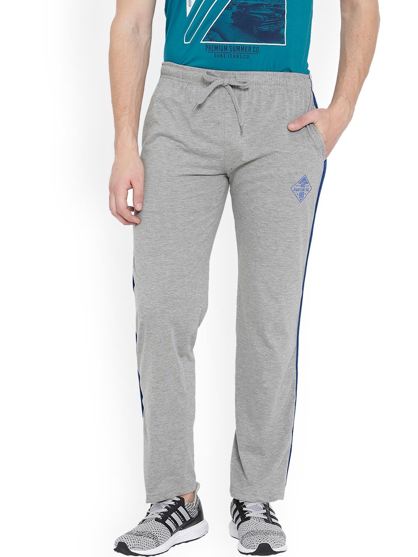 25b0b76b85c7 Buy Duke Men Grey Melange Track Pants - Track Pants for Men 4261643 ...