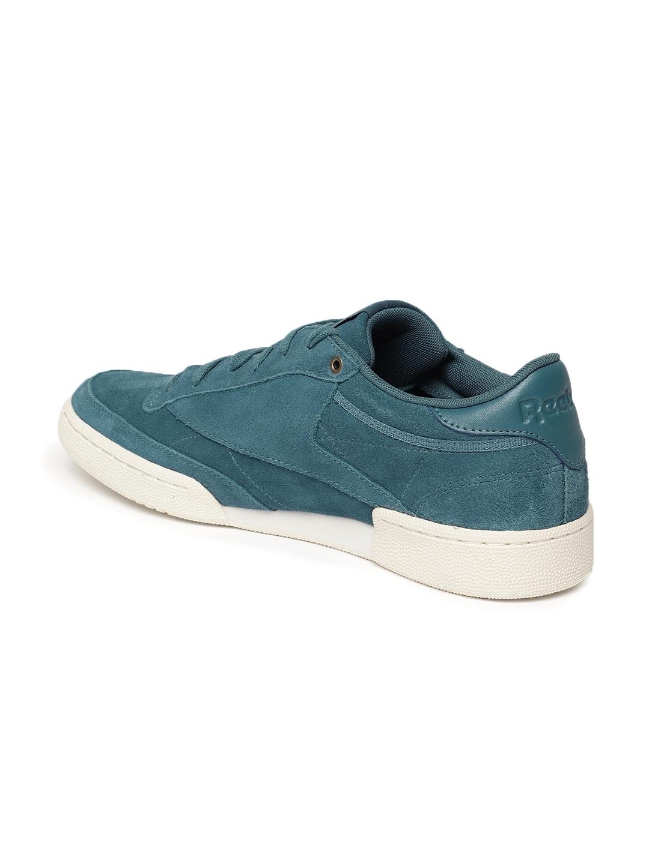 25ef565d7b52a Buy Reebok Classic Men Blue CLUB C 85 MCC Suede Sneakers - Casual ...