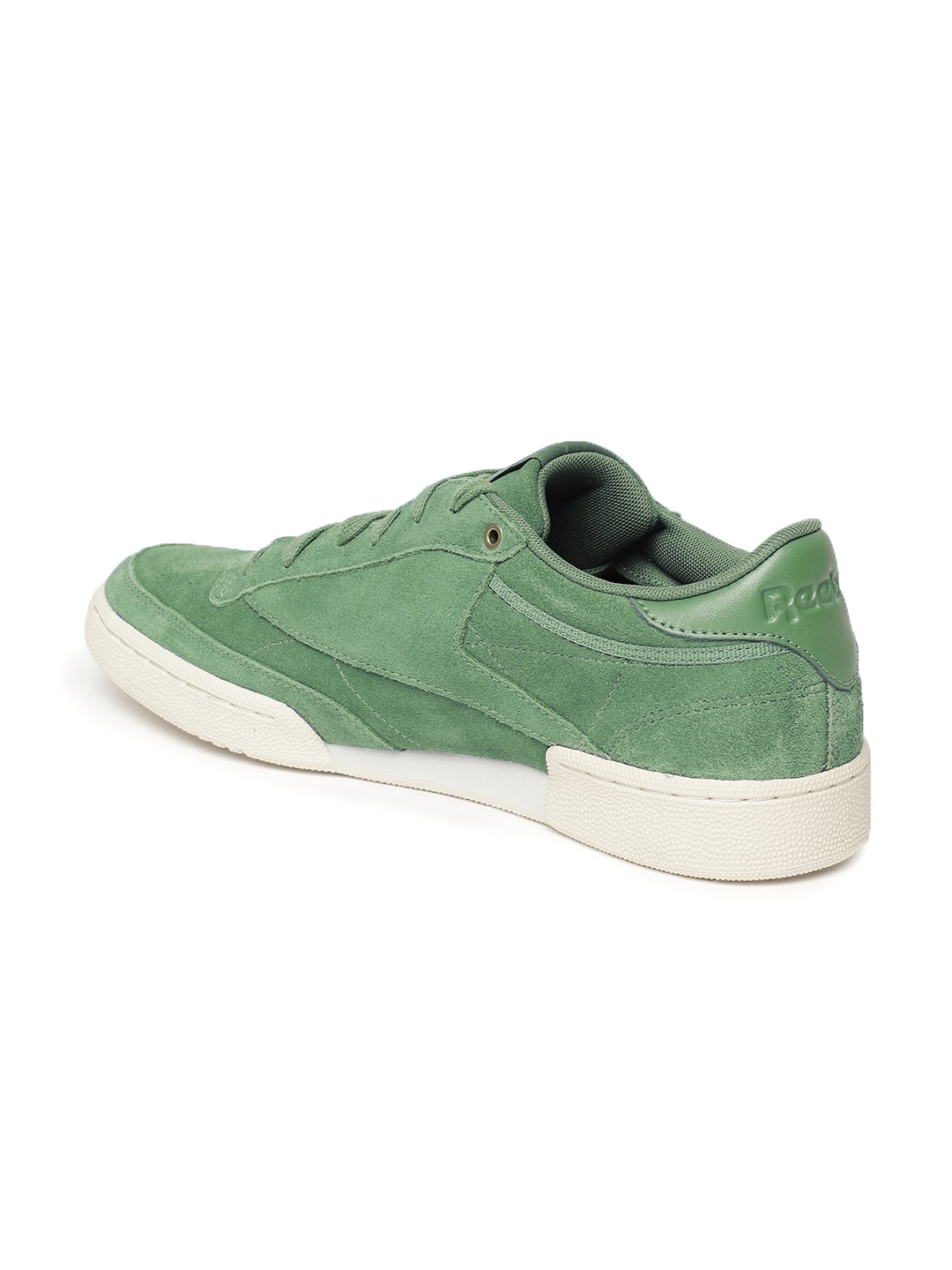 10ed2b46e30 Buy Reebok Classic Men CLUB C 85 MCC Green Suede Sneakers - Casual ...