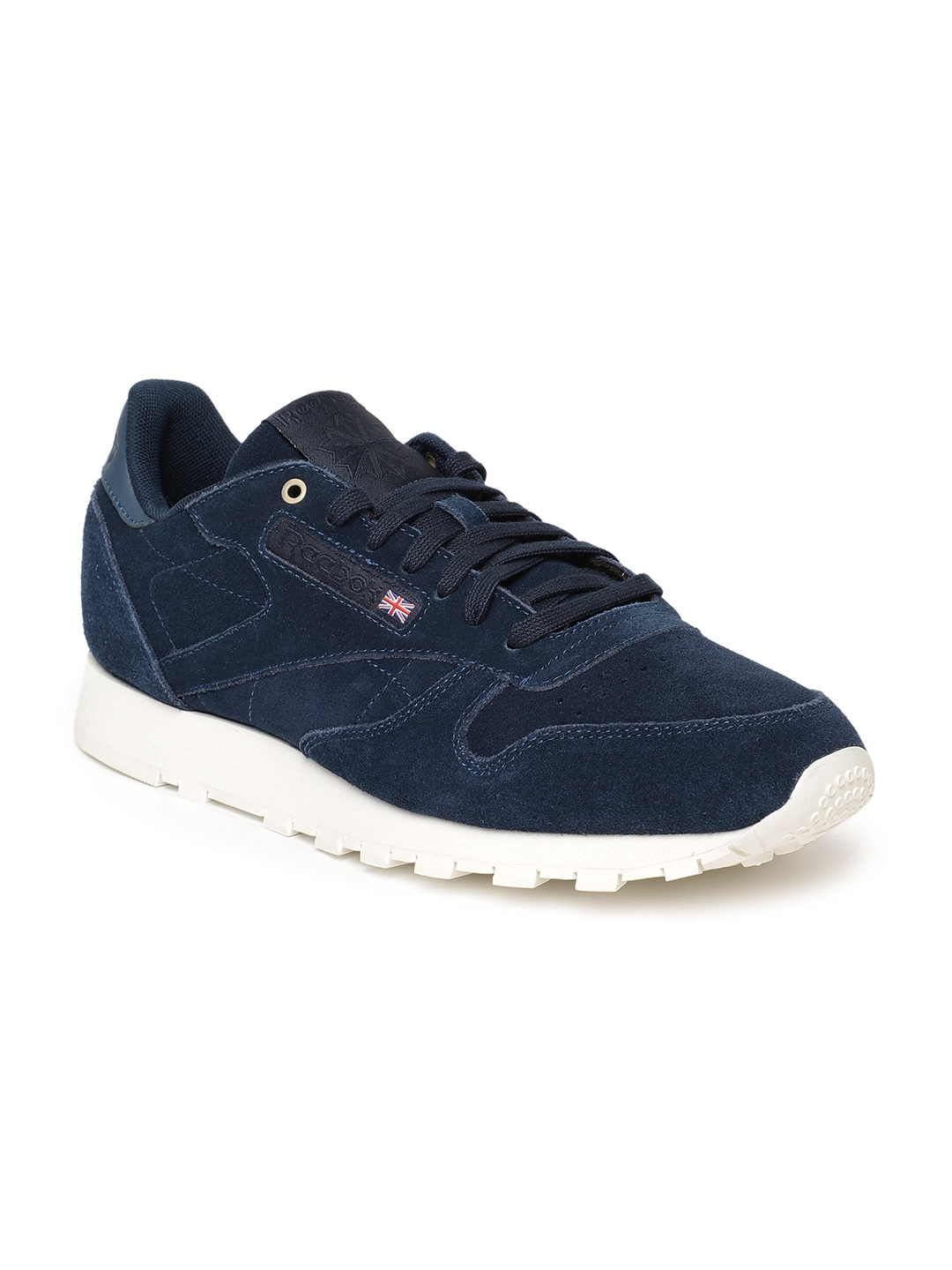 4293ce4a41a675 Buy Reebok Classic Men Navy CL Suede MCC Blue Sneakers - Casual ...