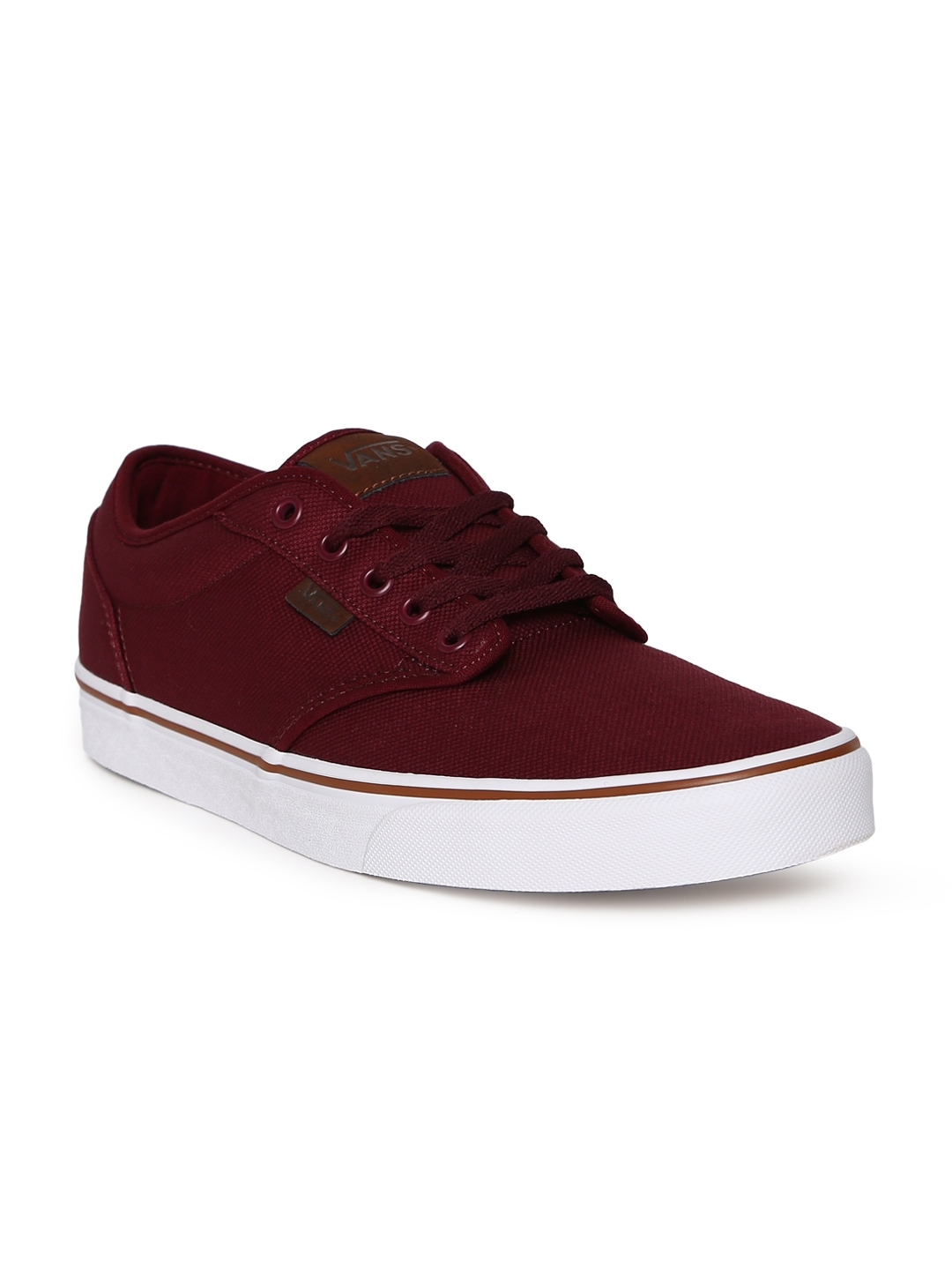 d6c5e0bb94f Buy Vans Men Red Atwood Sneakers - Casual Shoes for Men 4293181