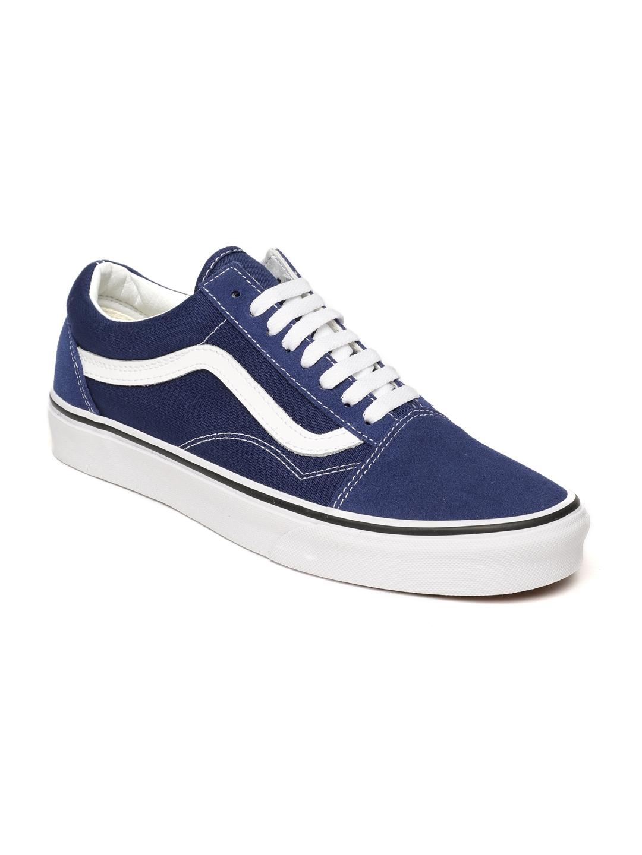 7b48ce4187ce73 Buy Vans Unisex Blue Old Skool Sneakers - Casual Shoes for Unisex ...