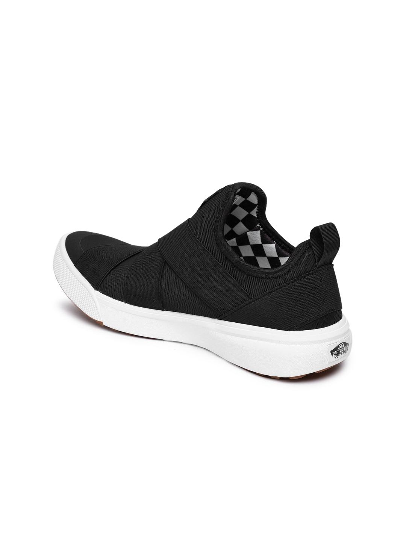 b79d5ef5052b55 Buy Vans Unisex Black Solid Mid Top UltraRange Gore Slip On Sneakers ...