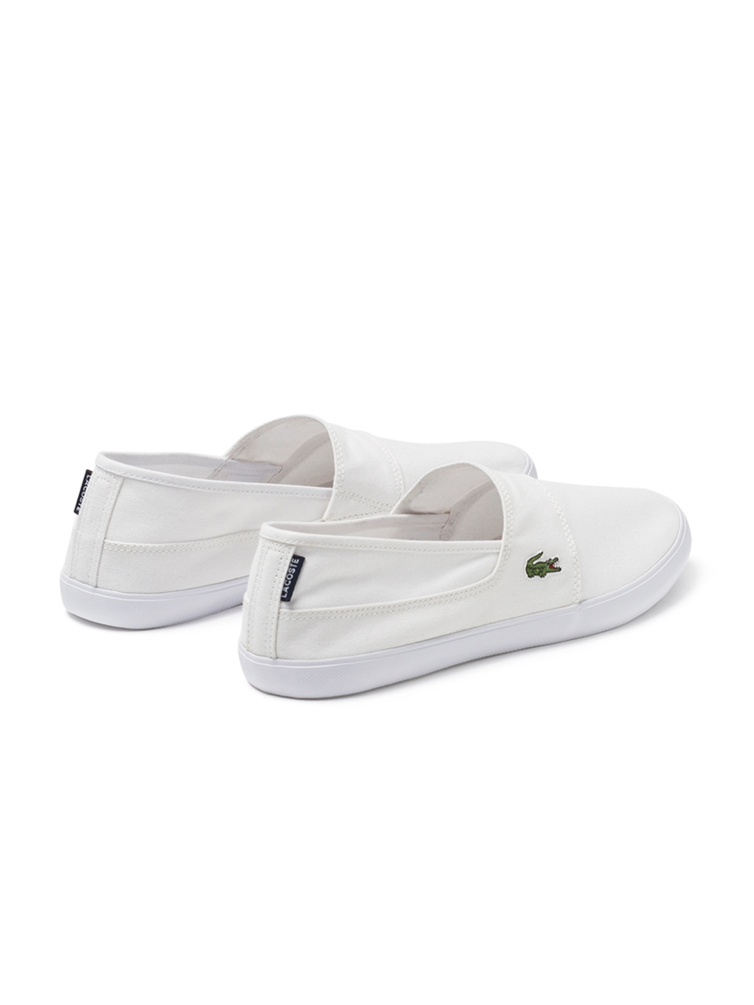322fb91f205d Buy Lacoste Men White Slip On Shoes - Casual Shoes for Men 4304640 ...