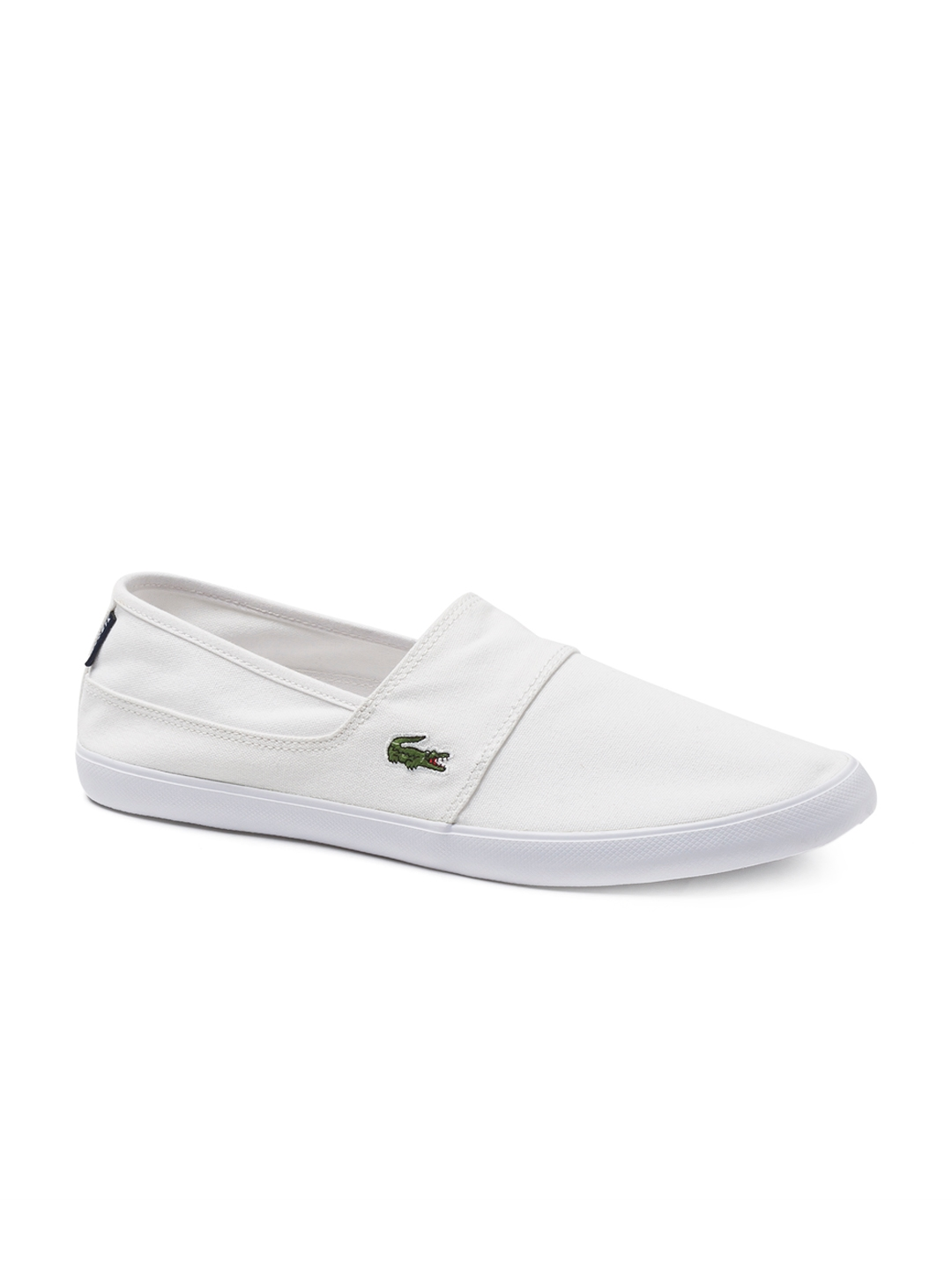 aa2c123358e31 Buy Lacoste Men White Slip On Shoes - Casual Shoes for Men 4304640 ...