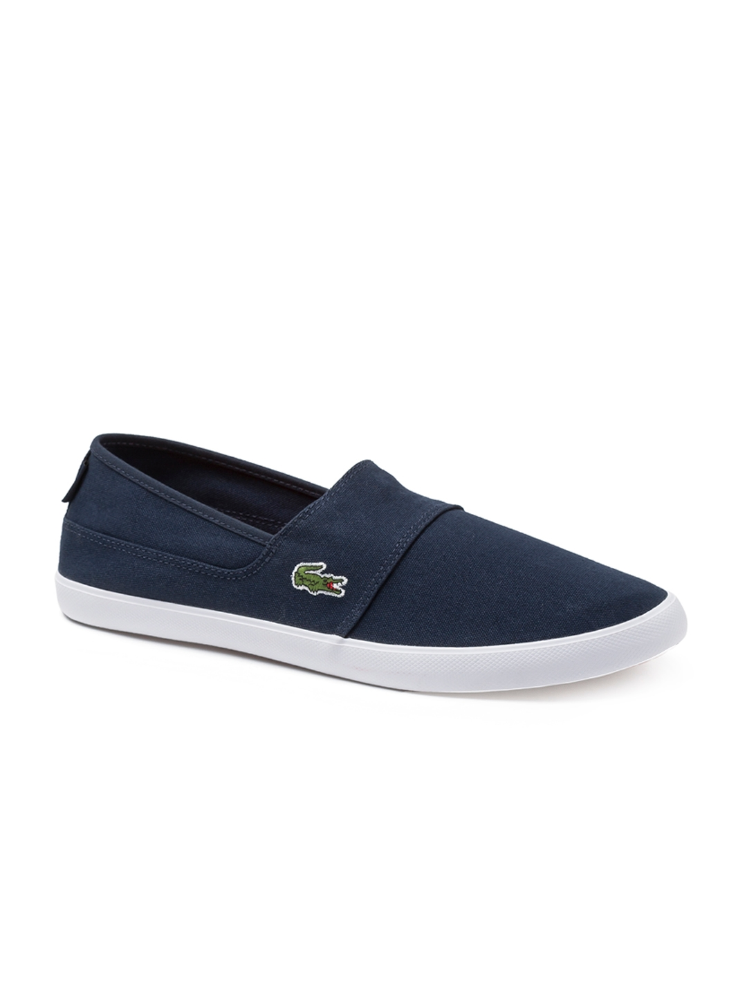 81723ae8a Buy Lacoste Men Blue Slip On Sneakers - Casual Shoes for Men 4304658 ...