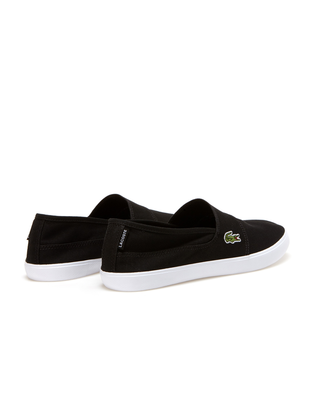 f2c168e5c Buy Lacoste Men Black Slip On Sneakers - Casual Shoes for Men ...