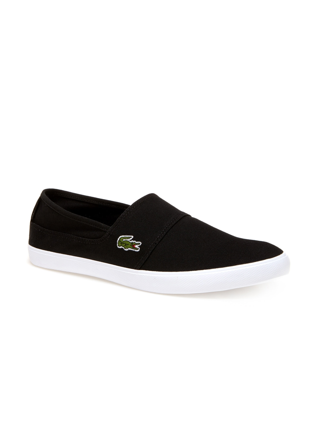 920b9012a Buy Lacoste Men Black Slip On Sneakers - Casual Shoes for Men ...