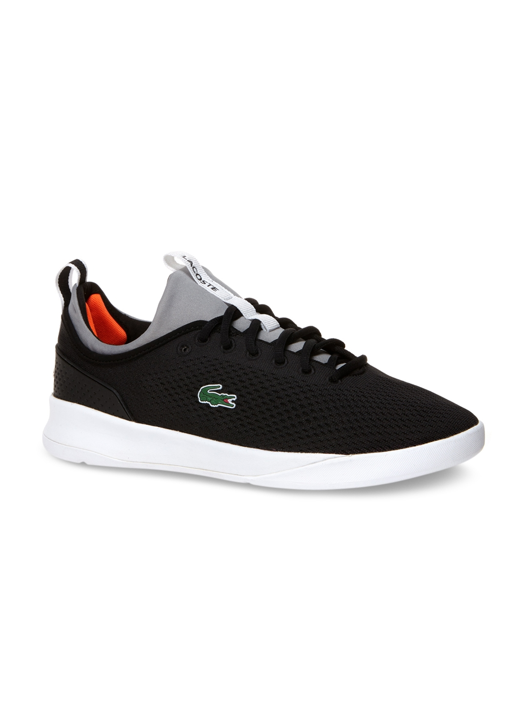 320a7d1622b4 Buy Lacoste Men Black Training Or Gym Shoes - Sports Shoes for Men ...
