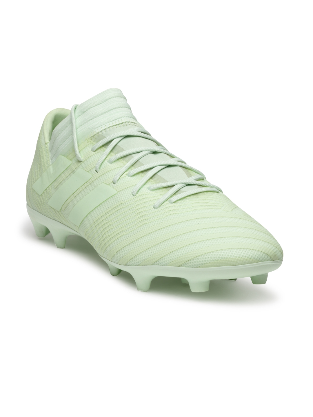 43025e0c5 Buy ADIDAS Men Mint Green NEMEZIZ 17.3 Firm Ground Football Shoes ...