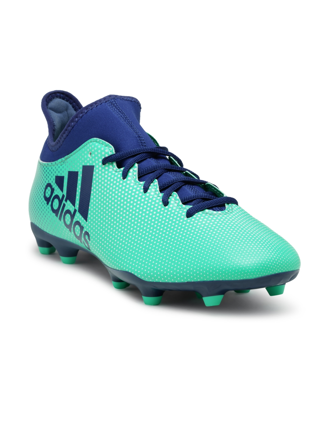52cd8402c Buy Adidas Men Sea Green X 17.3 Firm Ground Printed Football Shoes ...