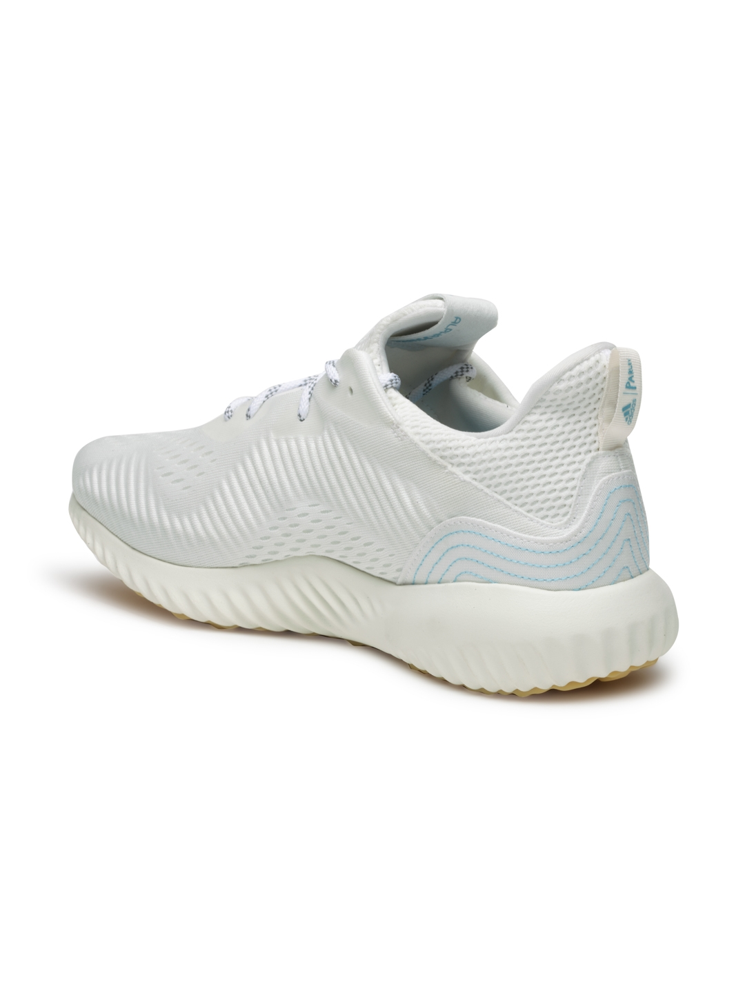 outlet store d74e9 a7040 ADIDAS Women Off-White ALPHABOUNCE 1 PARLEY Running Shoes