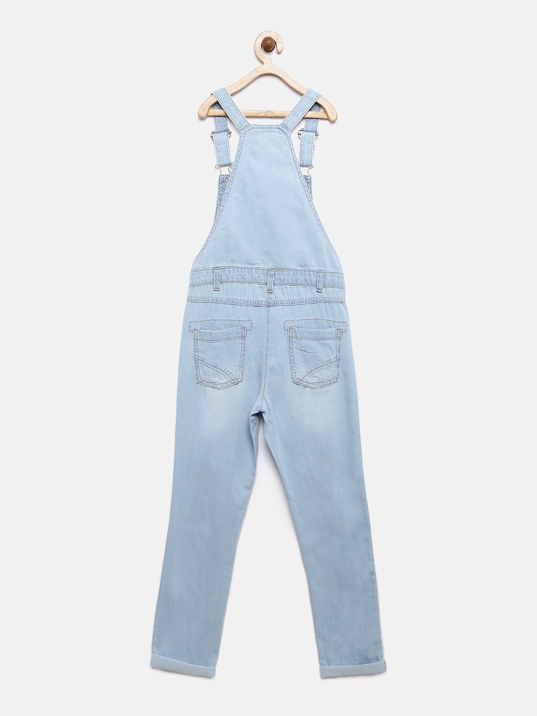 2d06e0630 Lee Cooper Girls Blue Washed Denim Dungarees. This product is already at  its best price