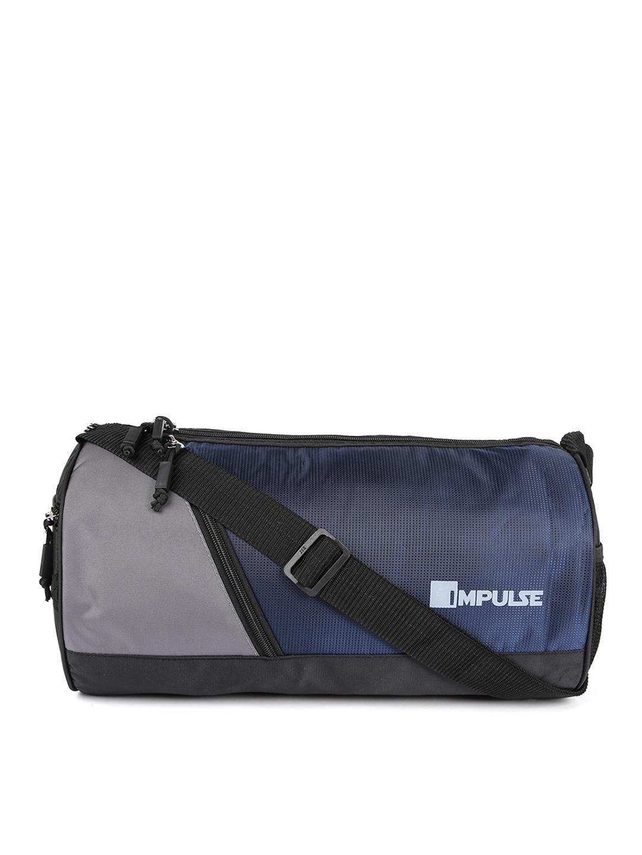 Impulse Blue Unisex Duffel Bag