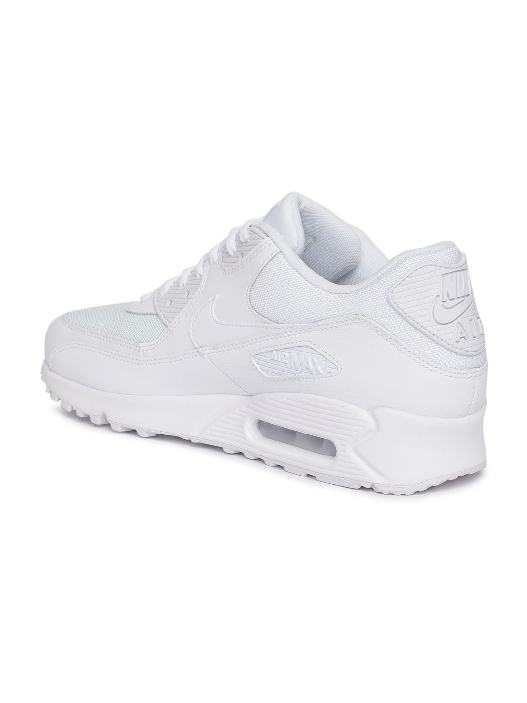 b7cb769b2d Buy Nike Men White Air Max 90 Essential Leather Casual Shoes ...