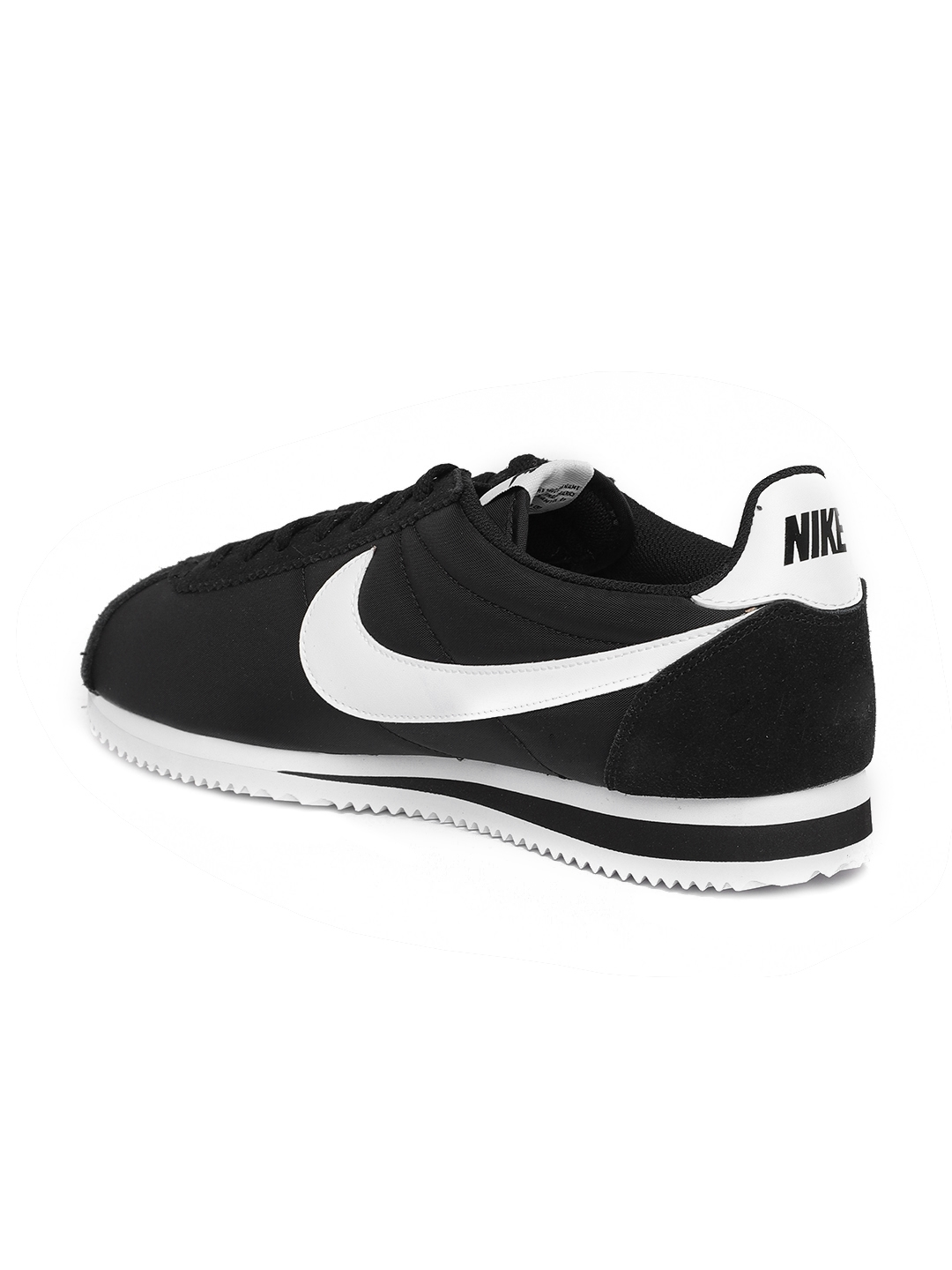 uk availability 9d61a 97e54 Nike Men Black Classic Cortez Sneakers