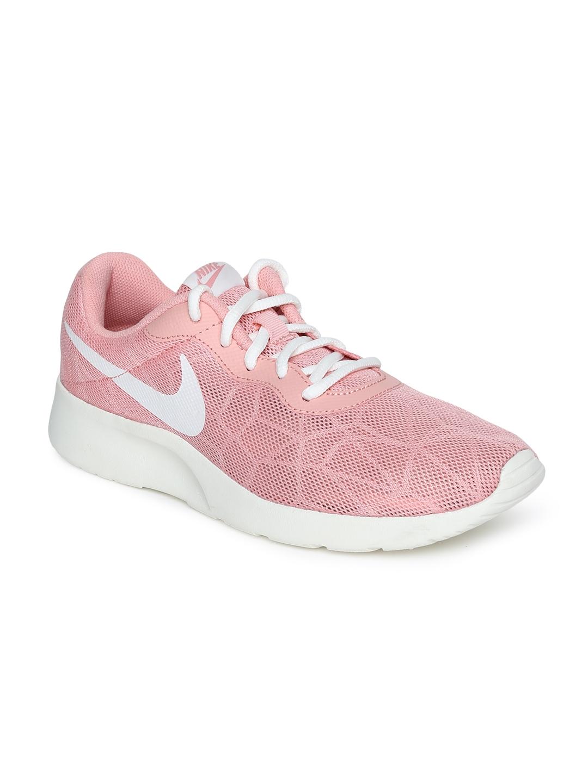 premium selection 7d567 ffaea Nike Women Pink Tanjun SE Sneakers