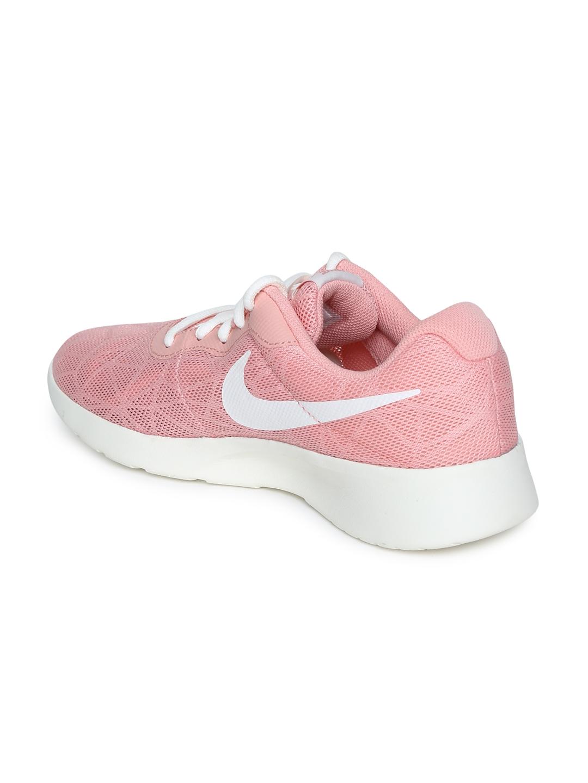 Buy Nike Women Pink Tanjun SE Sneakers - Casual Shoes for Women ... 1edc909cf