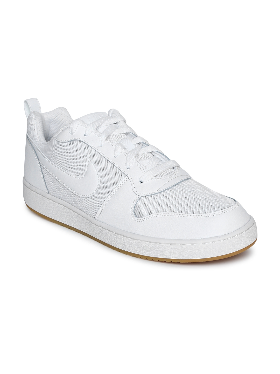 Buy Nike Men White COURT BOROUGH LOW Sneakers - Casual Shoes for Men ... 3ddc51357