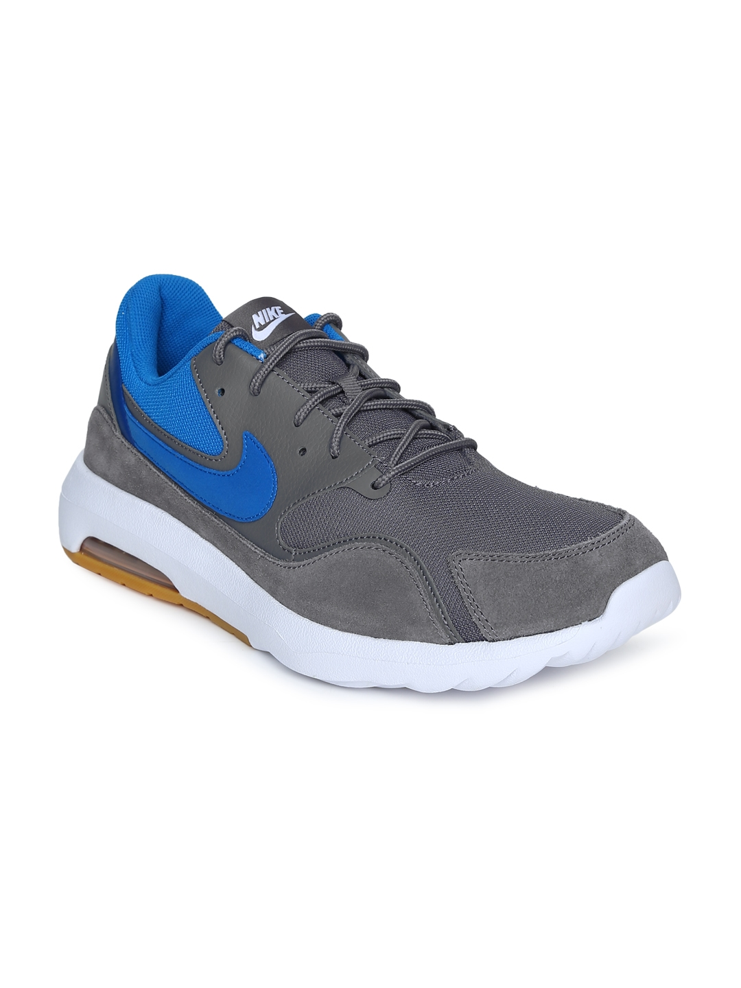 Buy Nike Men Grey   Blue AIR MAX NOSTALGIC Running Shoes - Sports ... 065d69ecf