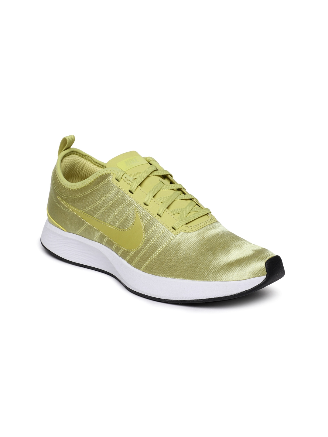 Buy Nike Women Gold Toned Dualtone Racer SE Sneakers - Casual Shoes ... 6795e07c0