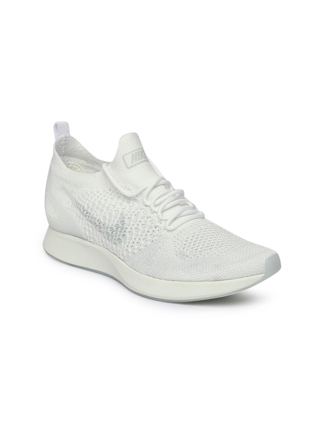 eb462abeea182 Buy Nike Women White Air Zoom Mariah Flyknit Racer Sneakers - Casual ...