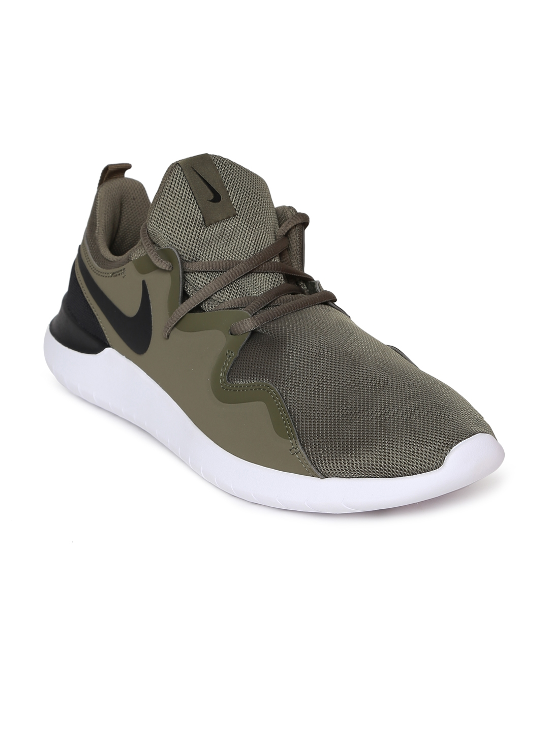 ab17f8067 Buy Nike Men Olive Green Tessen Running Shoes - Sports Shoes for Men ...
