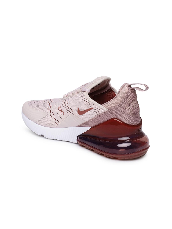 03ca9f46e Buy Nike Women Pink   Burgundy Air Max 270 Sneakers - Casual Shoes ...