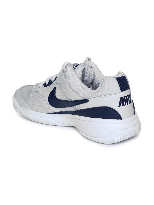 6f4a716f04ba8 Buy Nike Men White & Blue COURT LITE Tennis Shoes - Sports Shoes for ...