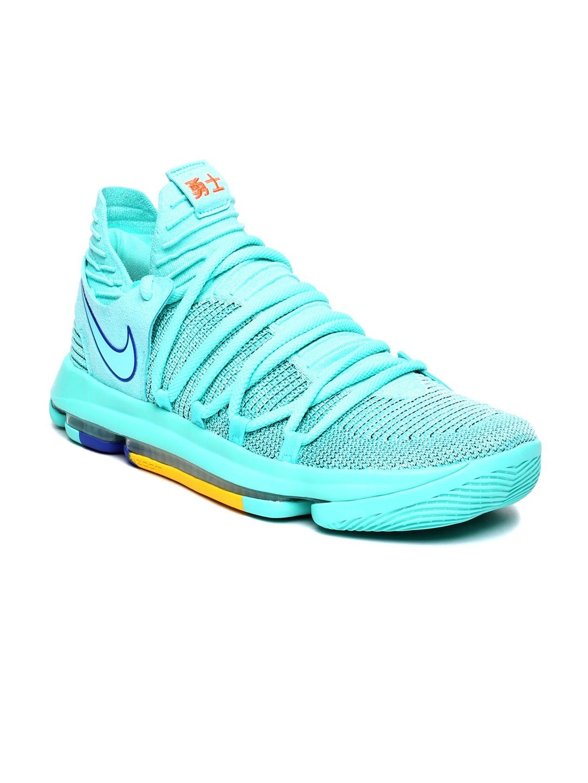 super popular c524e 4edb4 Nike Men Blue Zoom KD10 Basketball Shoe