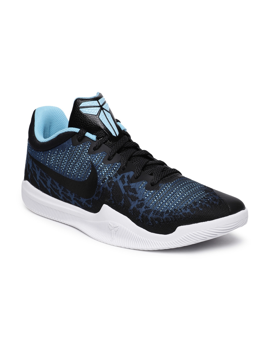 3a36997252b6 Buy Nike Men Black   Blue MAMBA RAGE Basketball Shoes - Sports Shoes ...