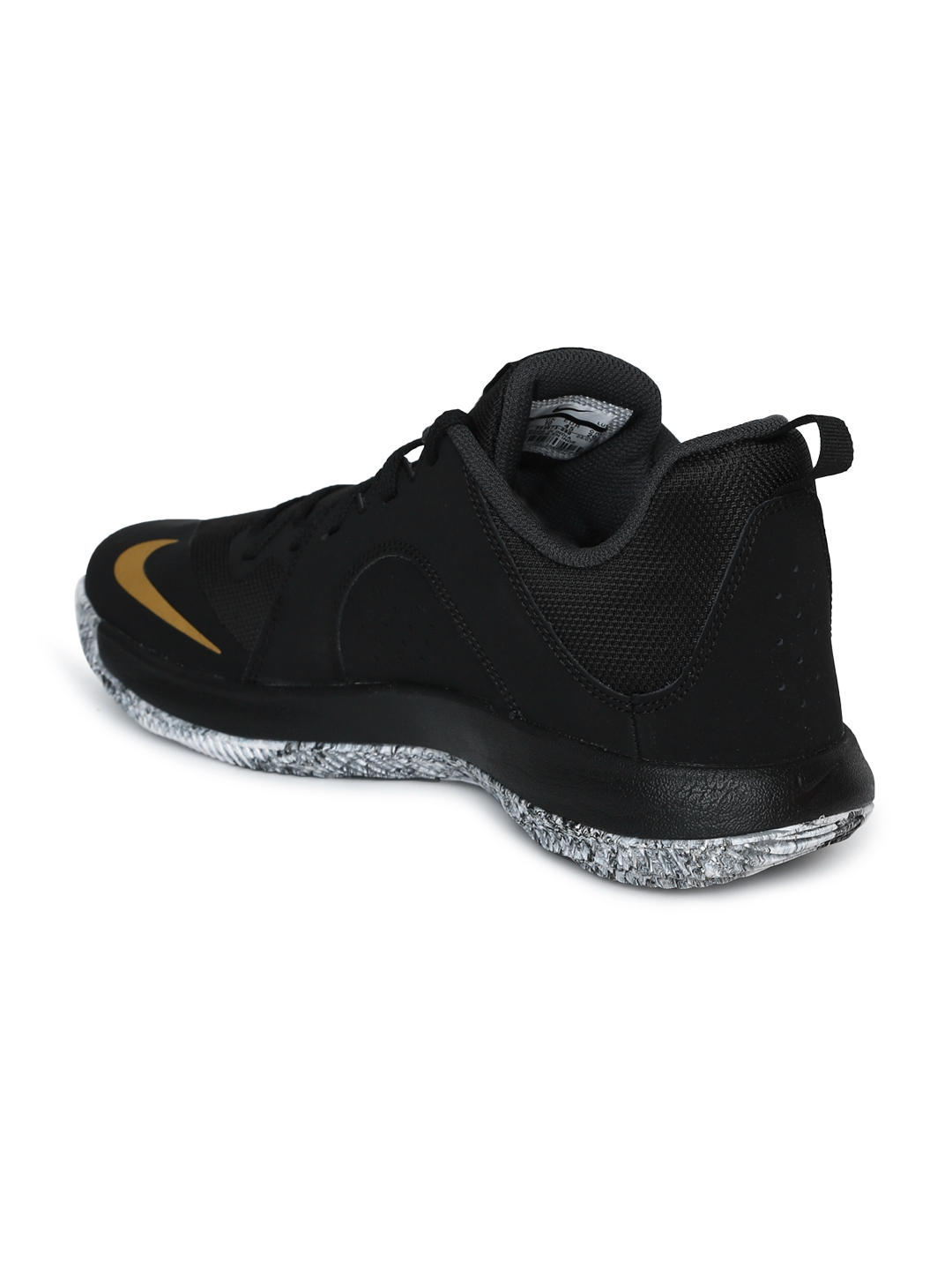 40891b46487 Buy Nike Men Black FLY BY LOW Basketball Shoes - Sports Shoes for ...