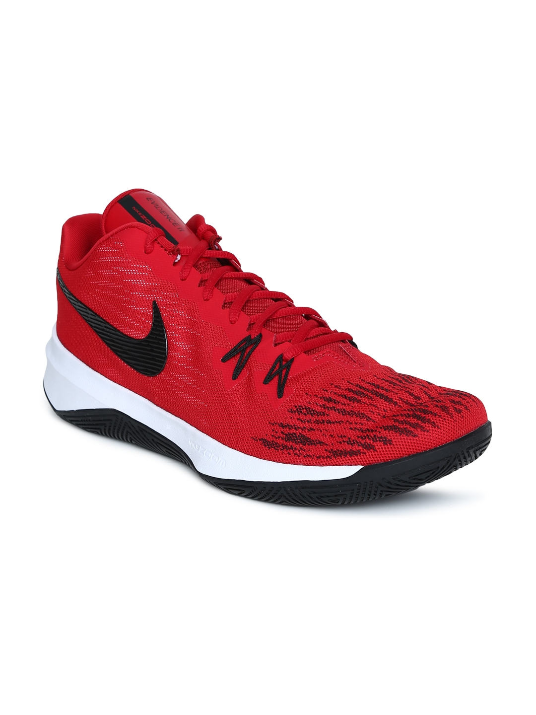 aa1b2daf8ad8 Buy Nike Men Red ZOOM EVIDENCE II Basketball Shoes - Sports Shoes ...