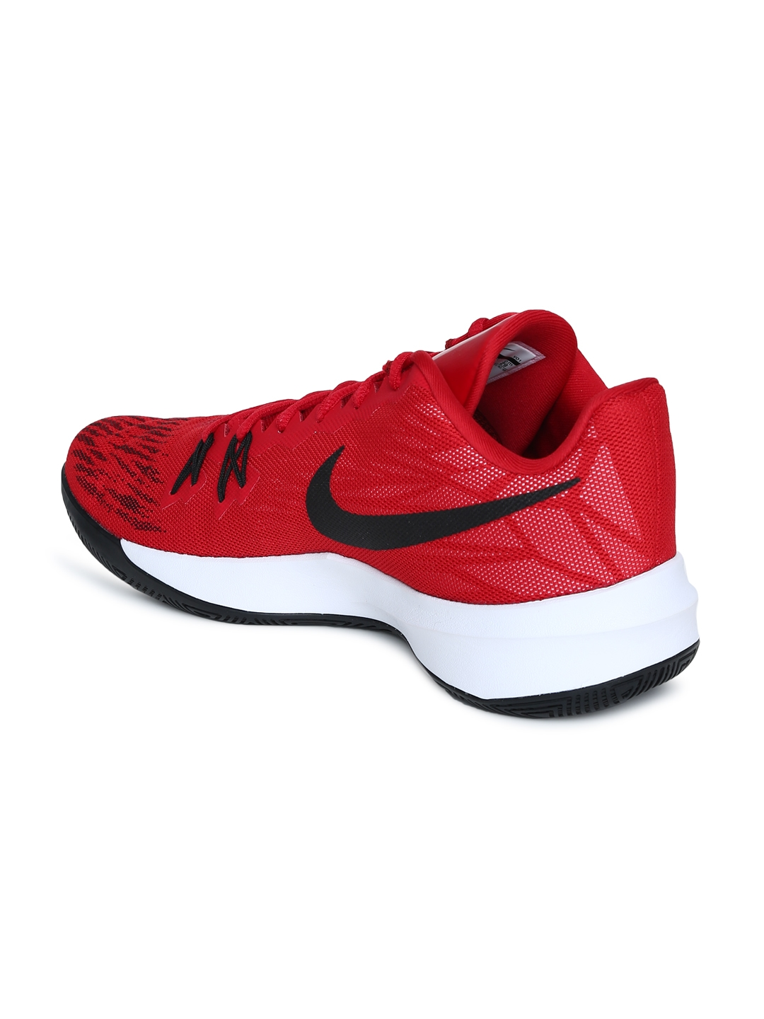 Buy Nike Men Red ZOOM EVIDENCE II Basketball Shoes - Sports Shoes ... 7103bf10015