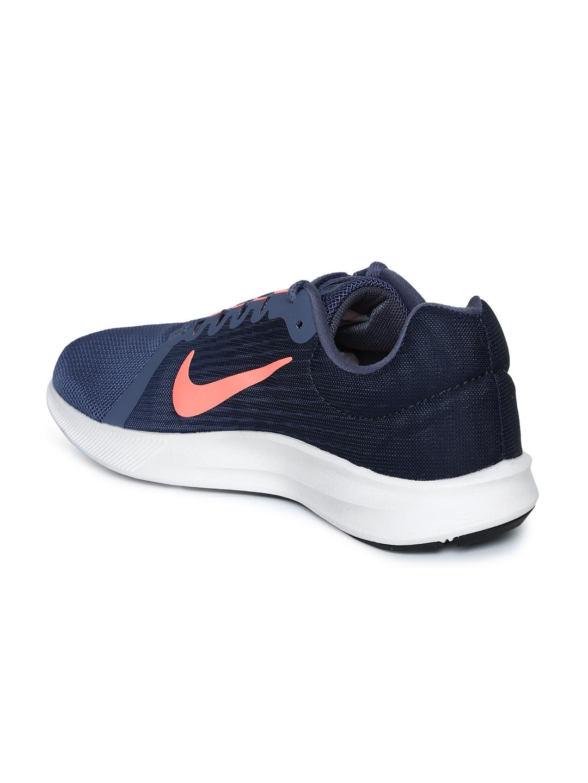 40d1a3f0decfe Buy Nike Women Navy Blue Downshifter 8 Running Shoes - Sports Shoes ...