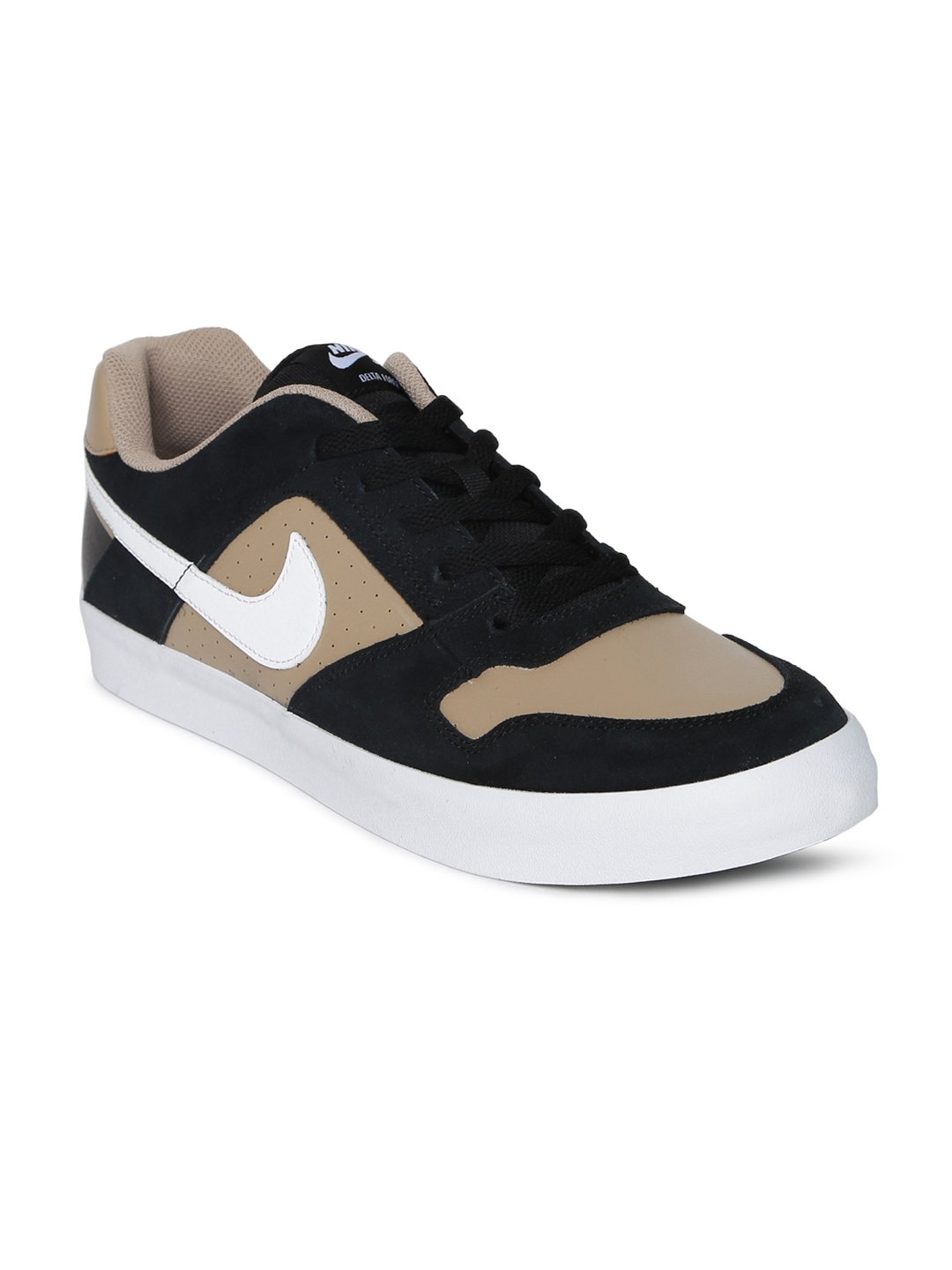 best loved 6635d b3493 Nike Men Black Delta Force Vulc Skateboarding Shoes