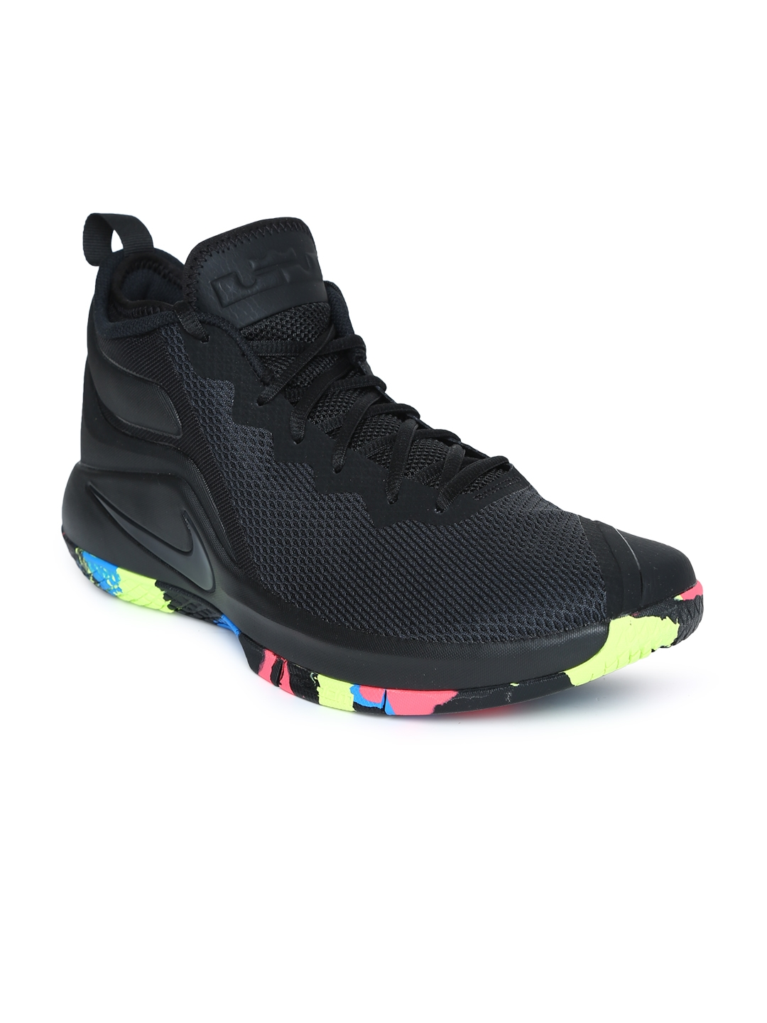 reputable site 5803c ef6ac Nike Men s Black LeBron Witness II Basketball Shoe