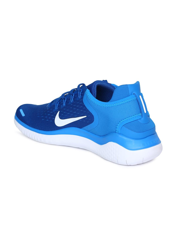 innovative design c8523 32c1d Nike Men Blue FREE RN 2018 Running Shoes