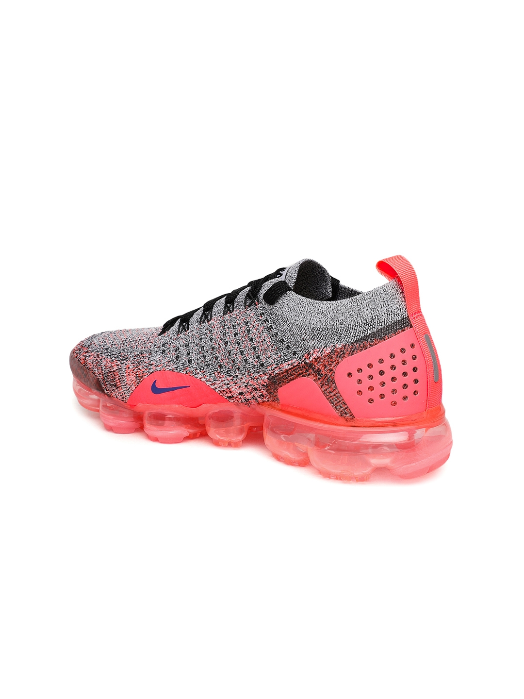 8b9e46c4f36c0 Buy Nike Women White   Black AIR VAPORMAX FLYKNIT 2 Running Shoes ...