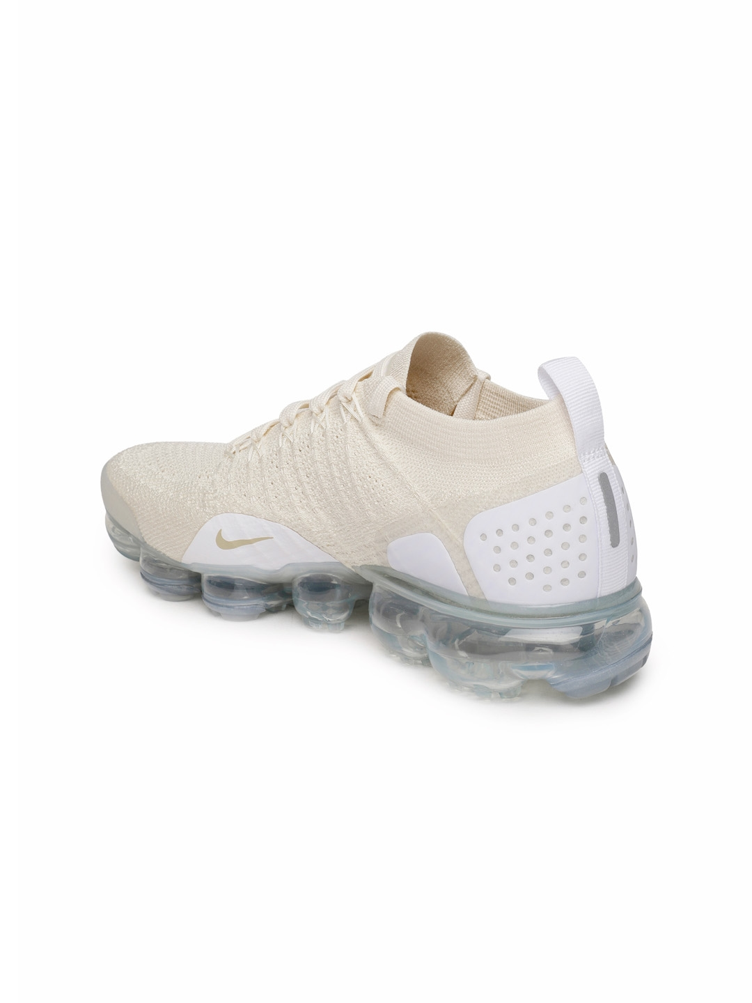7d3bb4ece62cc Buy Nike Women Cream Coloured AIR VAPORMAX FLYKNIT 2 Running Shoes ...