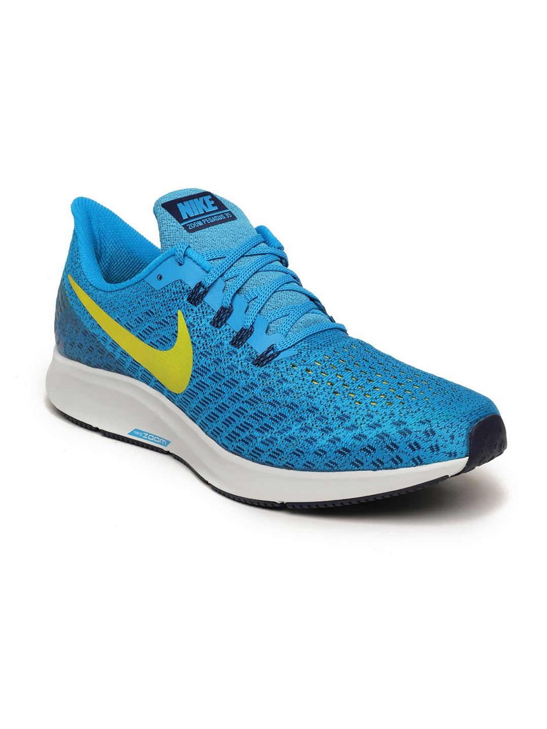 7335e0a5cc336 Buy Nike Men Blue Air Zoom Pegasus 35 Running Shoes - Sports Shoes ...