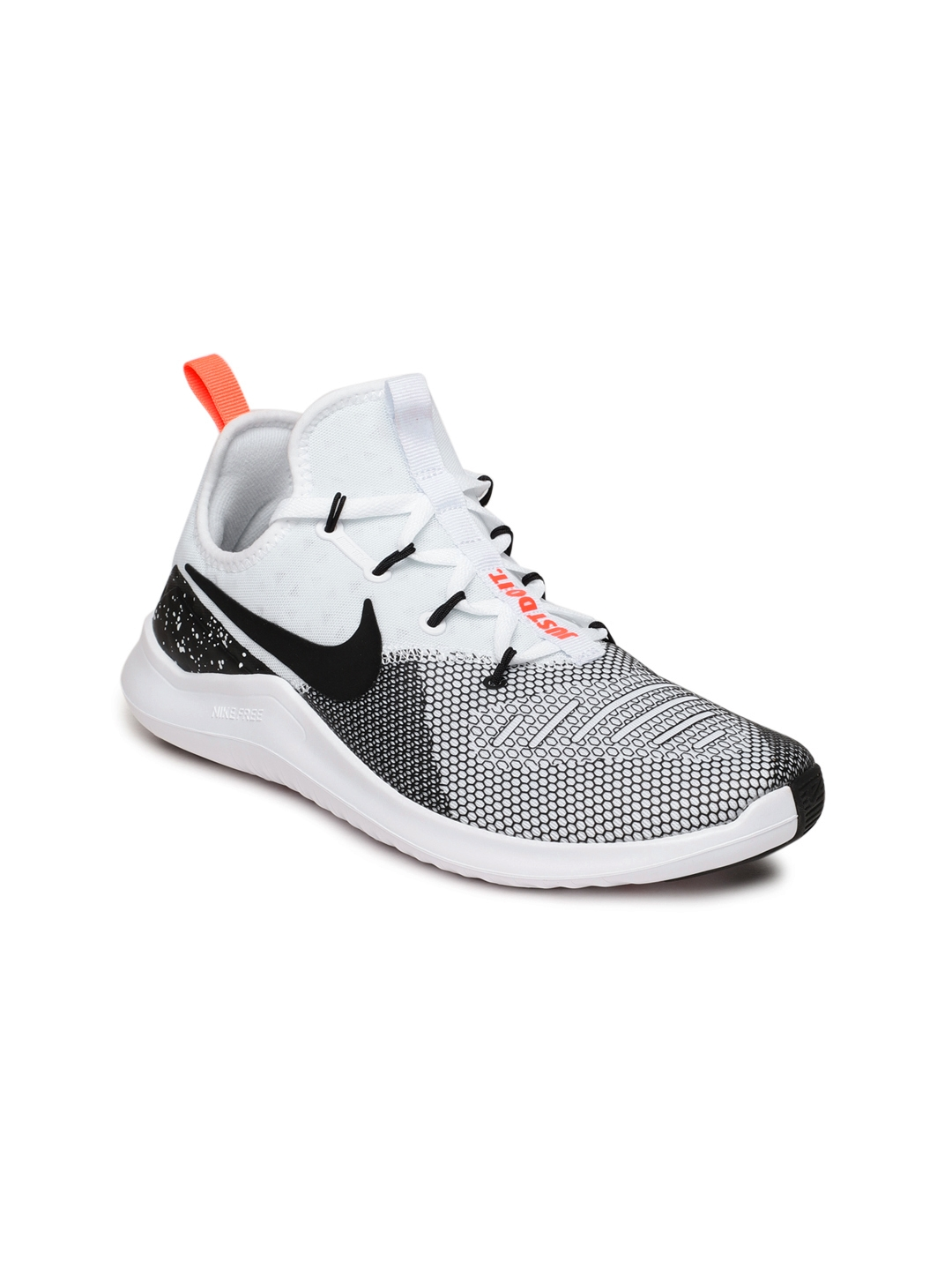 6d412d8a9738 Buy Nike Women White   Black Free TR 8 Training Shoes - Sports Shoes ...
