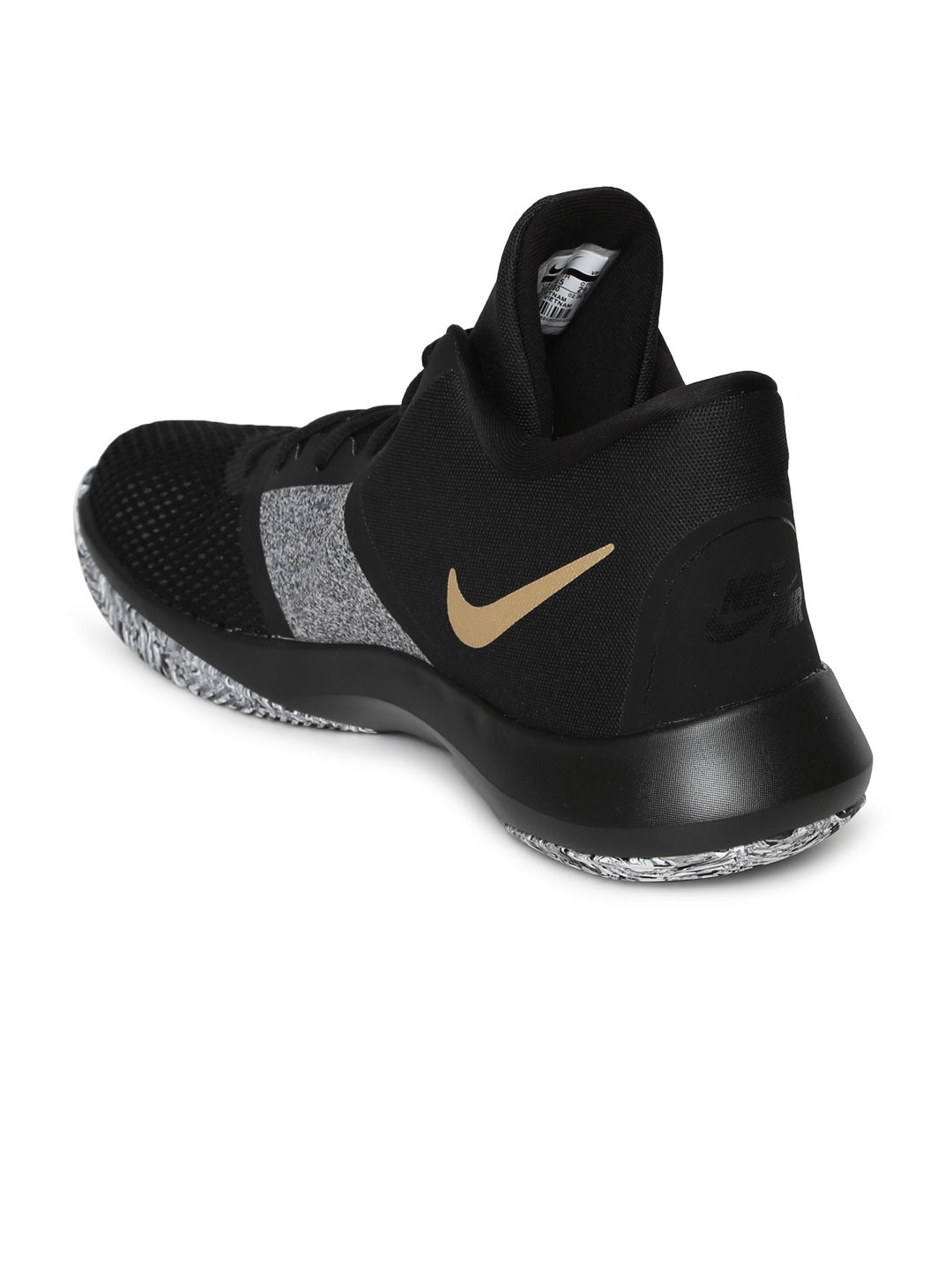 sports shoes 7e6a5 7a19a Nike Men Black Air Precision II Basketball Shoes