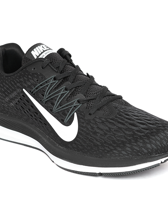 1e7eeb81 Buy Nike Men Black Zoom Winflo 5 Running Shoes - Sports Shoes for Men  4330967 | Myntra