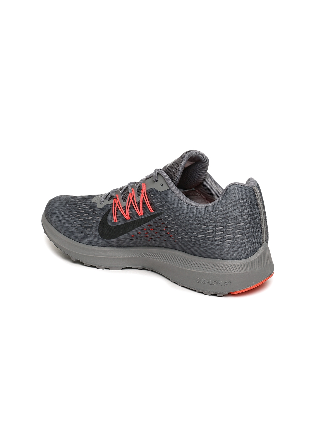 d07c37cc740 Buy Nike Men Grey Air Zoom Winflo 5 Running Shoes - Sports Shoes for ...