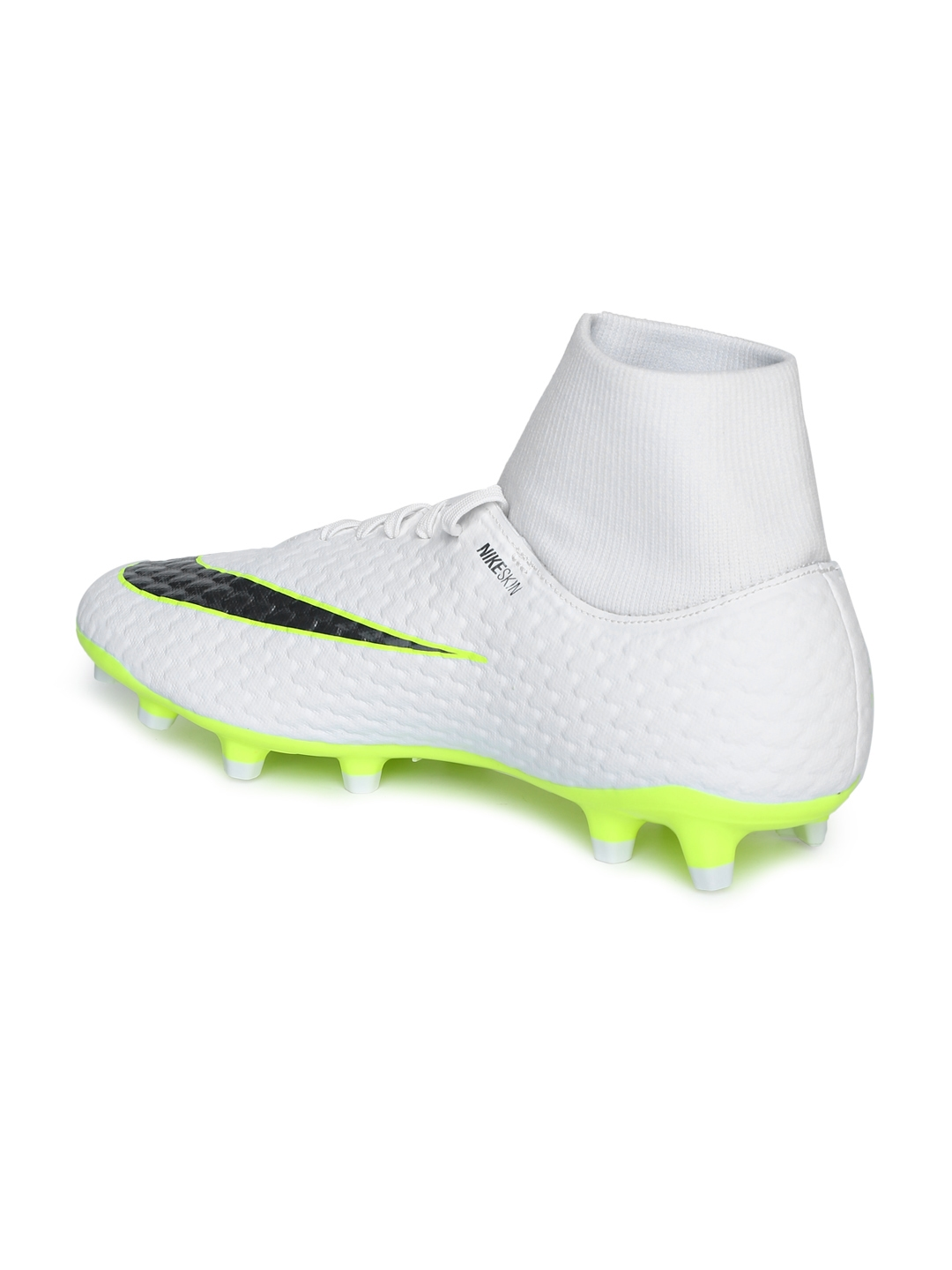 73d01644f Buy Nike Men White   Green PHANTOM 3 ACADEMY DF FG Football Shoes ...