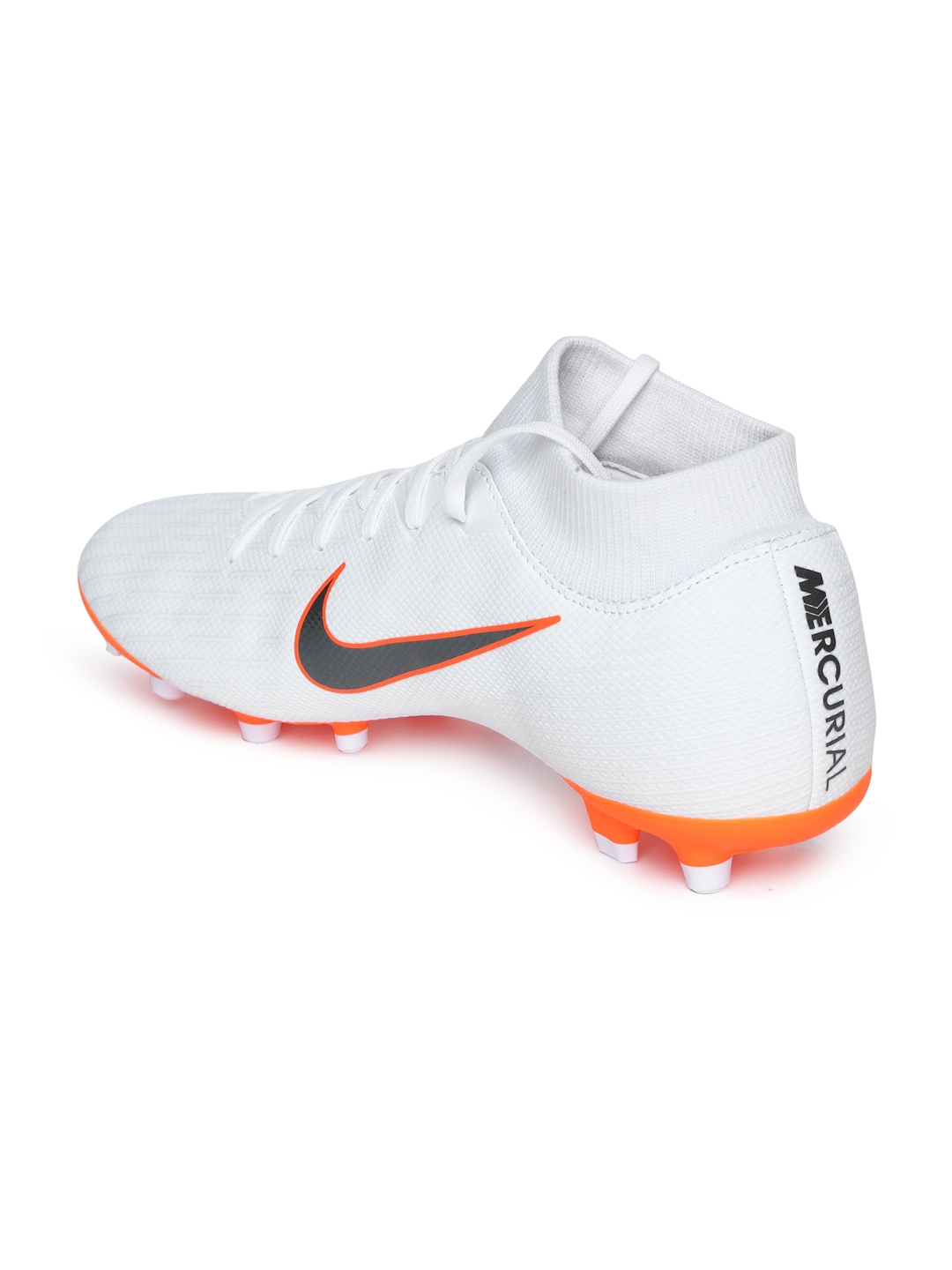 60e6118e8dda Buy Nike Men White SUPERFLY 6 ACADEMY Football Shoes - Sports Shoes ...
