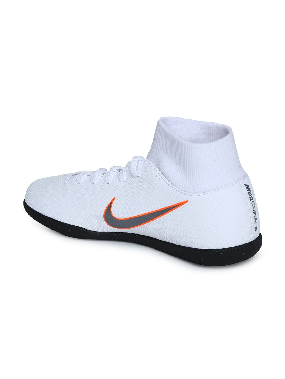 a35d5f29d5e99 Buy Nike Unisex White SUPERFLYX 6 CLUB IC Football Shoes - Sports ...