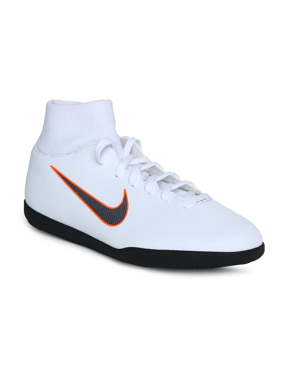 Buy Nike Unisex White SUPERFLYX 6 CLUB IC Football Shoes - Sports ... 042832a1f7b1b