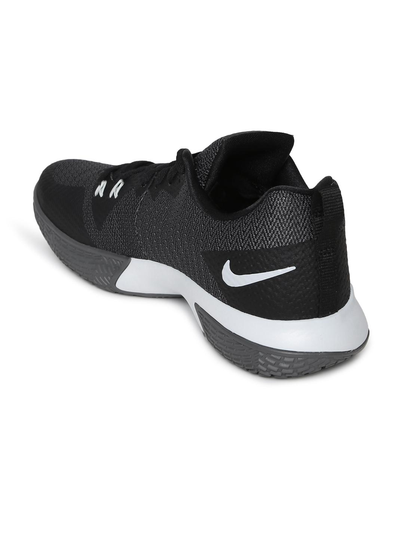 33abdf3c6a59 Buy Nike Men Black Zoom Live II Basketball Shoes - Sports Shoes for ...